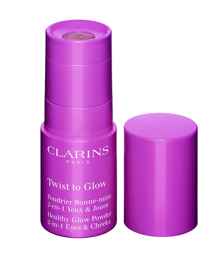 Twist to Glow, 2 en 1 para ojos y mejillas de Clarins