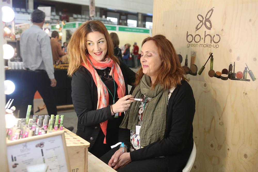 Stand de Bo Ho en Biocultura Madrid 2018