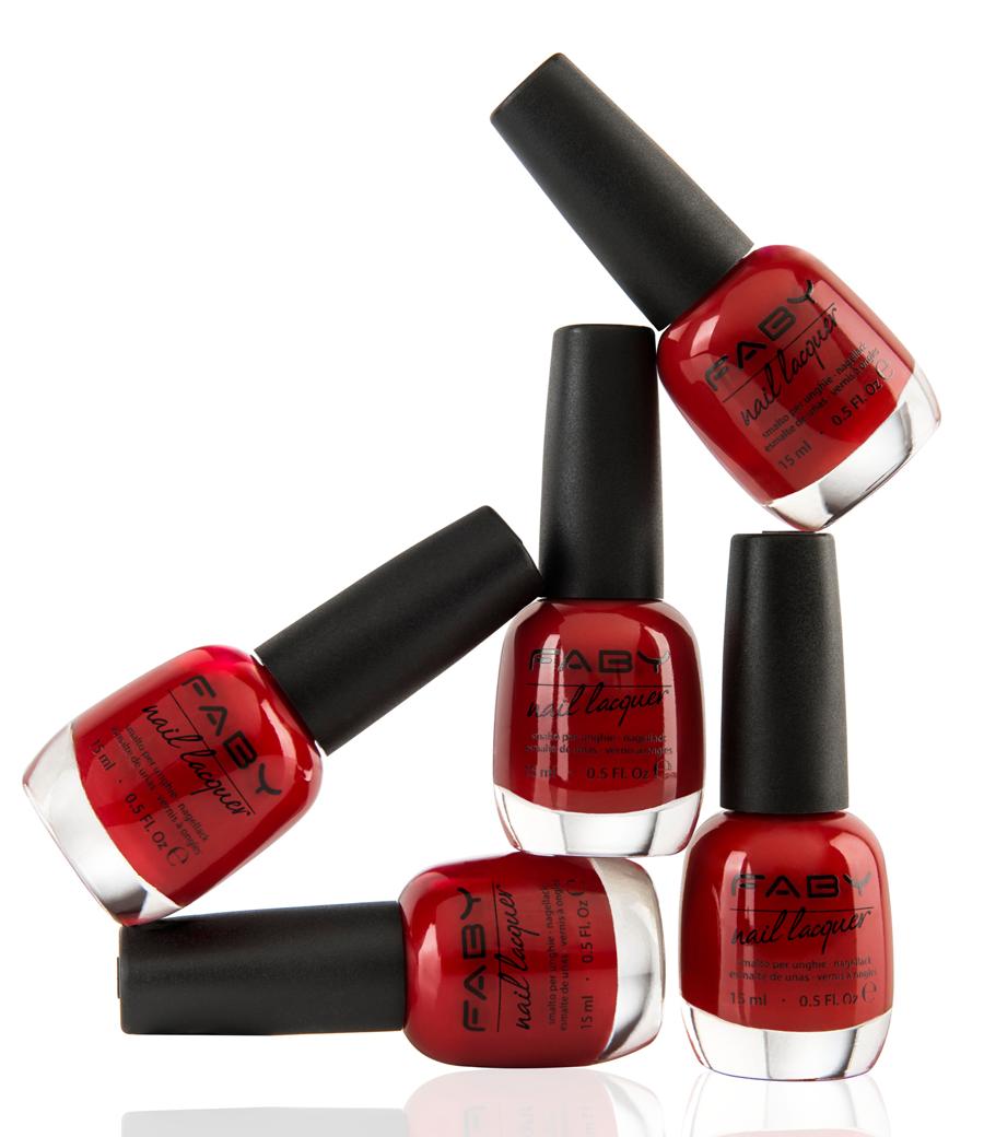 Faby Stil Life esmaltes uñas rojo
