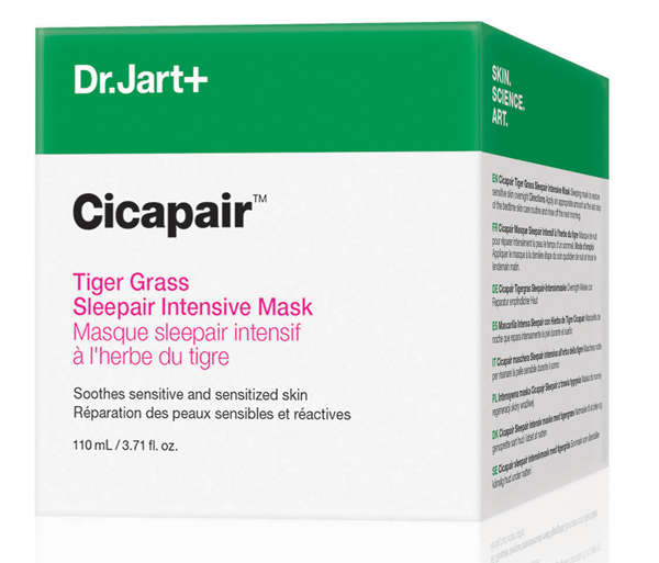 Cicapair Tiger Grass Sleepair Intensive Mask, de Dr. Jart+