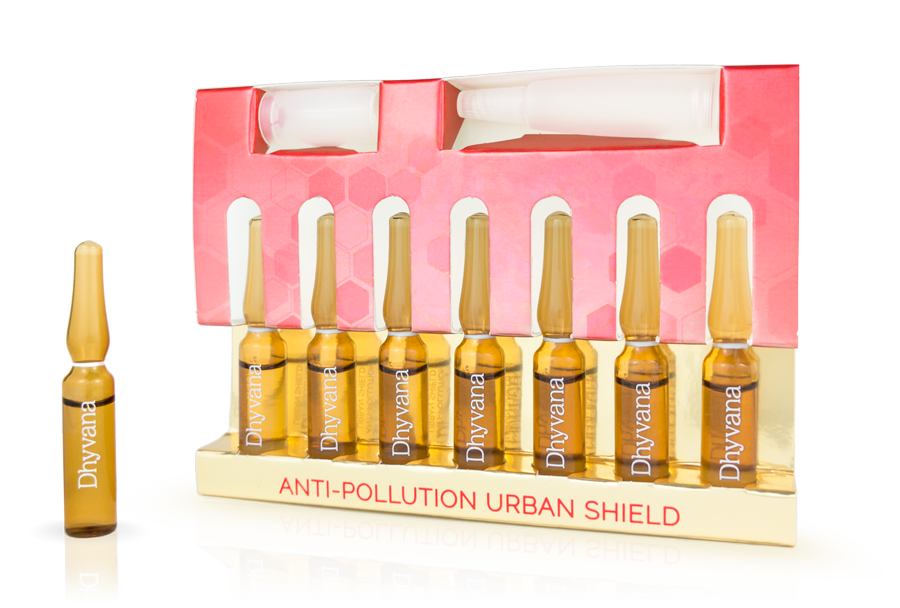 Ampolla Beauty Booster Anti Pollution de Dhyvana