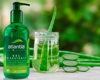 Atlantia trae lo mejor del aloe vera puro de Canarias