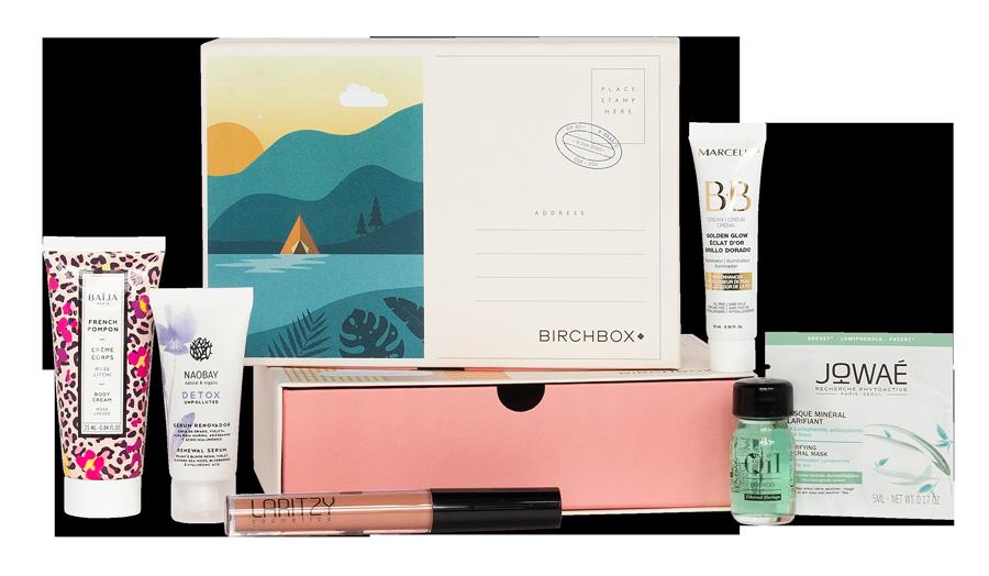 Caja beauty Birchbox de junio con muestras