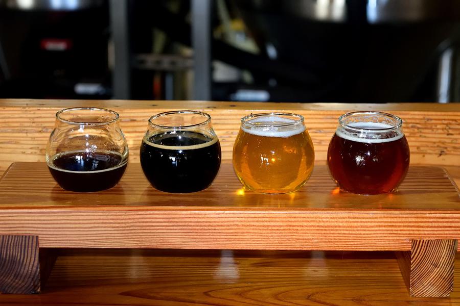 Cata de cervezas ecológicas en Biocultura 2019