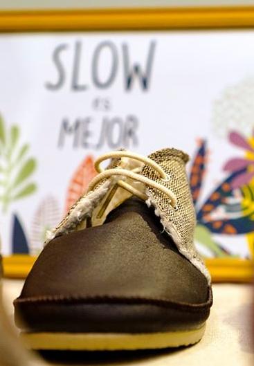 Venta de calzado artesano en VeggieWorld Barcelona 2018