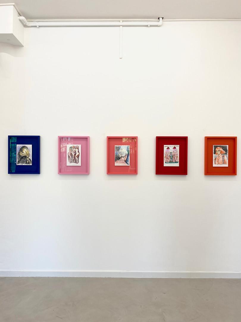 Exhibition view - Charlie Stein