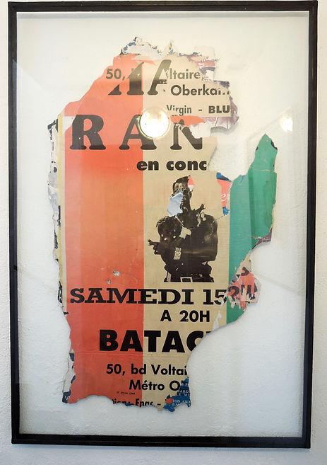 Raymon Hains, Bataclan, Affiche lacérée