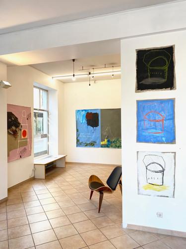 Exhibition views