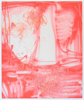 """Eric Mangen """"Ultra Rosa"""" Screen Print"""