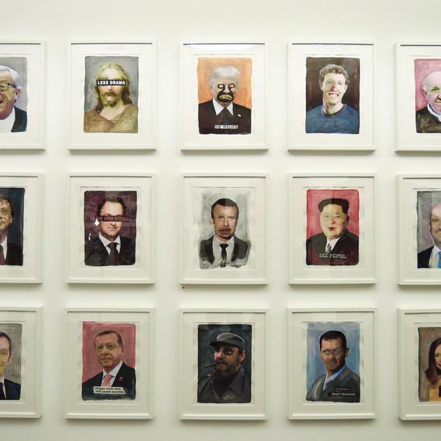 Portraits, Marc Pierrard