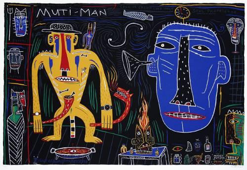 "Norman Catherine ""Muti Man"""