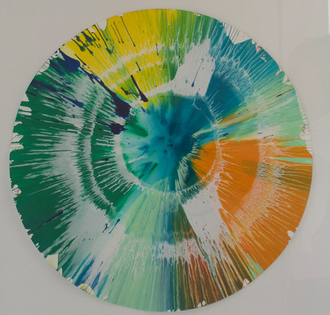 Damien Hirst I Spin Painting, April 2009