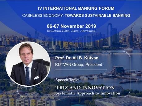 IV INTERNATIONAL BANKING FORUM;                        Cashless Economy: Towards Sustainable Banking
