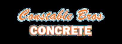 Constable Bro's Concrete