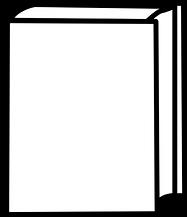 open-book-clipart-black-and-white-white-