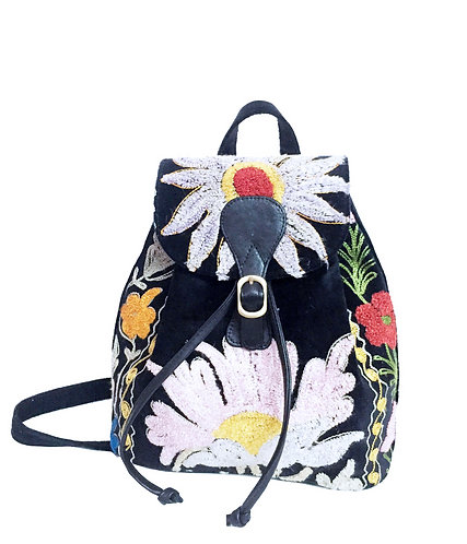 One of a Kind Suzani Backpack