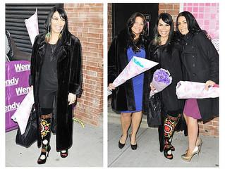 """Renee Graziano of """"Mob Wives"""" in her custom ZEYZANI'S"""