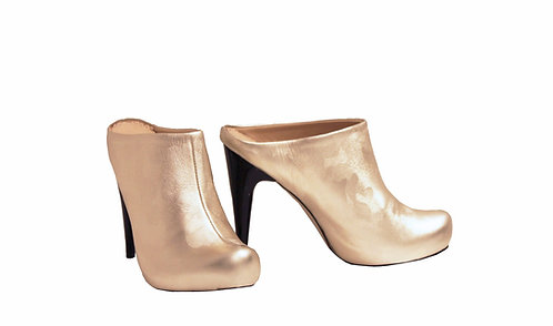 Gold Camo - Clogs Stiletto
