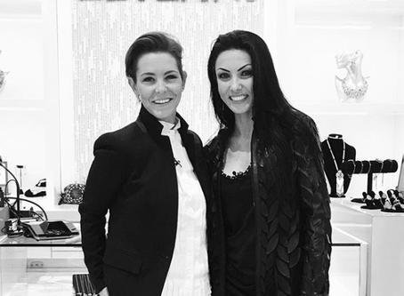 Stephanie Rule of NBC's Interview with  the Designer of ZEYZANI, Zeynep Yurderi,