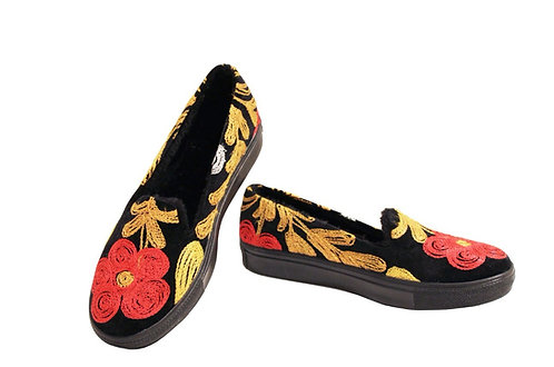 One of a Kind Suzani Black Uptown - Loafer