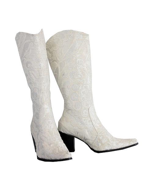 Bridal Black Heel - Cowboys