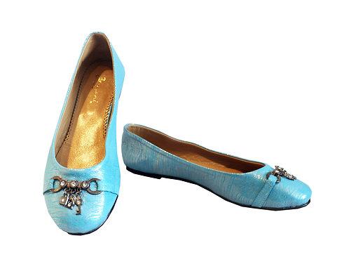 Blue Key Leather - Babette