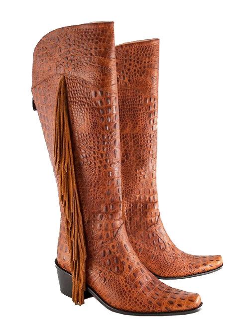 Brown Fringe - KH Cowboys