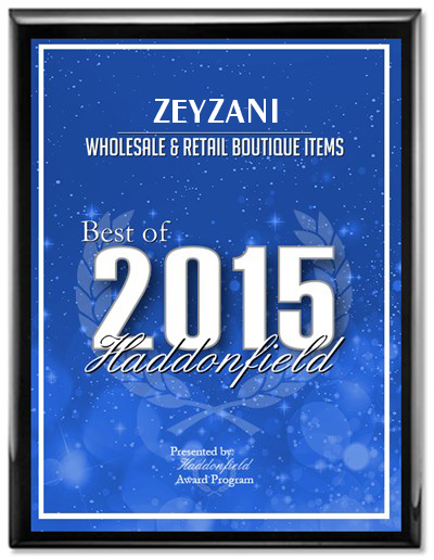 Zeyzani was awarded Best of 2015