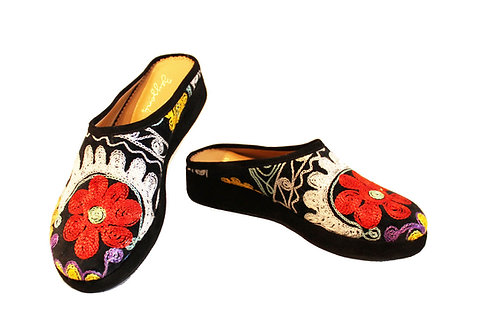 One of a Kind Suzani - Clogs