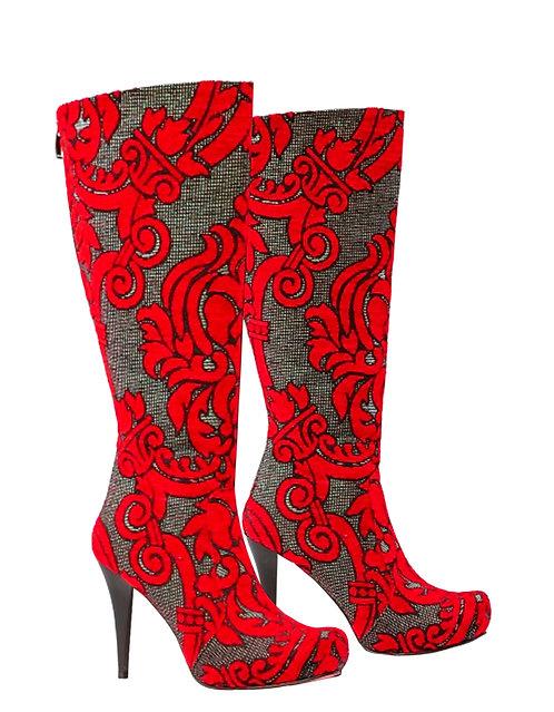 Blk/Red - Stiletto
