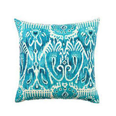 One of a kind Ikat Pillow