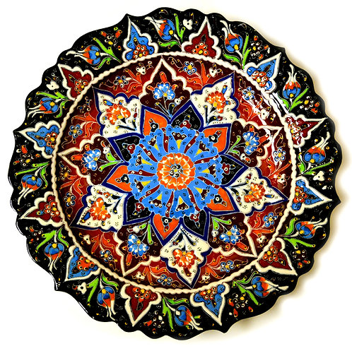 Hand-painted Turkish Large Plate