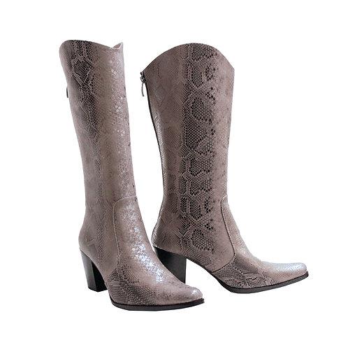 Silver Python Leather - Cowboys