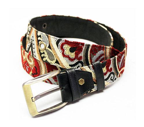 Textile Fire Adjustable Jean Belt
