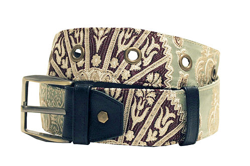 Textile Mint Adjustable Jean Belt