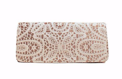 Lace - Textile Clutch