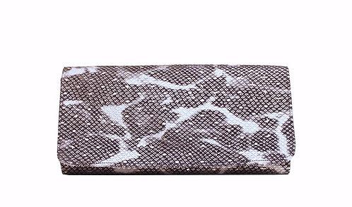 Python Leather - Clutch