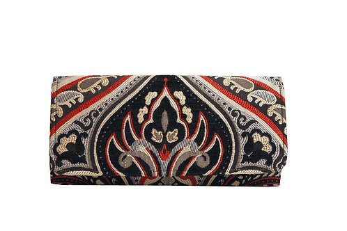 Black Angel - Textile Clutch