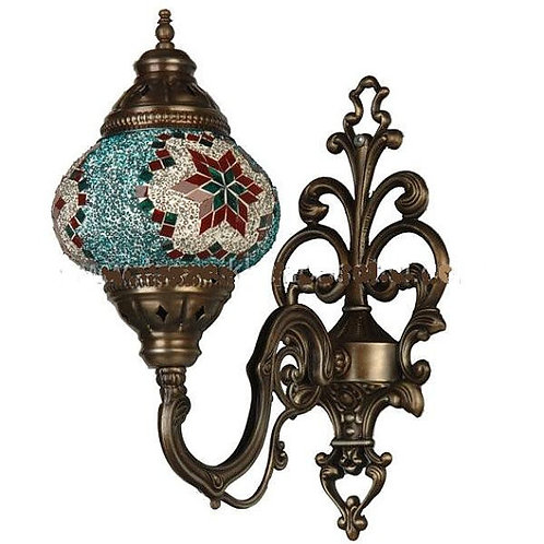 Turkish Glass Mosaic Lantern
