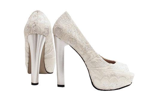 Silver Bride - Pumps