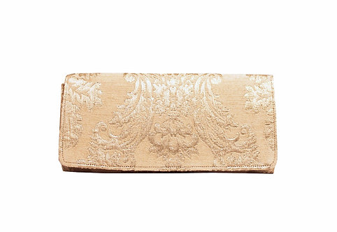 Gold - Textile Clutch