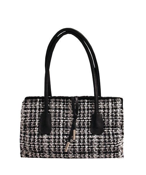 Black and White Retro Handbag