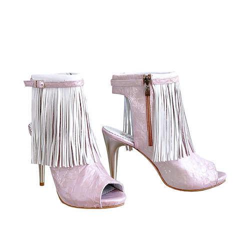 Prink Bride Fringe - ANK Stiletto