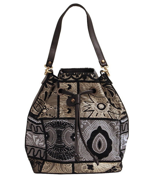 Black Zari Handbag