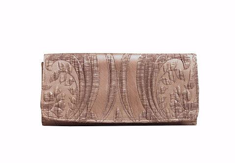 Gold Silk - Textile Clutch