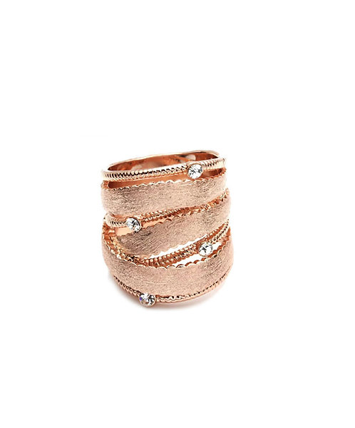 Trendy Rose Gold Ring