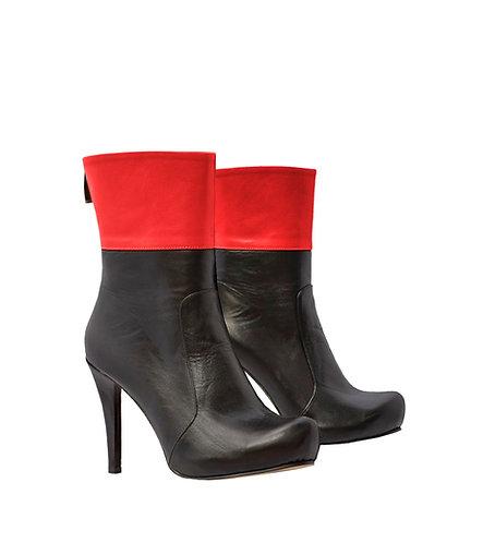 Black Red Leather - MC Stiletto