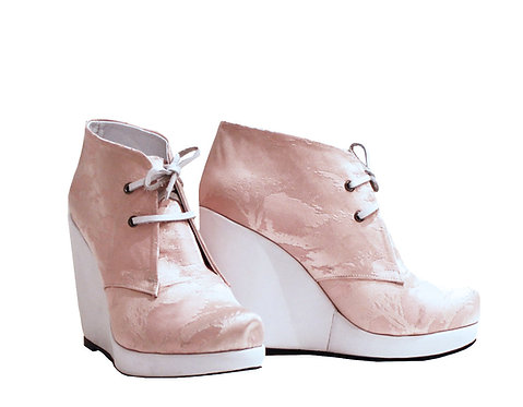 Pink Pastel - Shoes Wedge