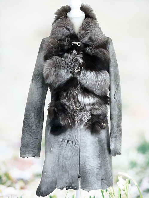 Leather Fox Khaleesi Coat