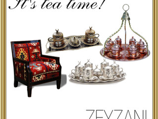 It's tea time with ZEYZANI!